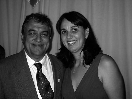 Hermenilson Carvalho e Regina Célia