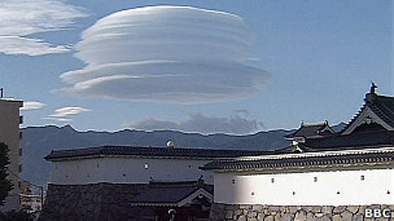imagem da nuvem chapéu