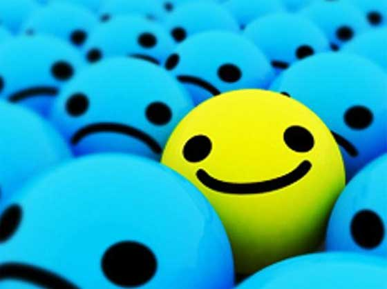 Imagem símbolo de felicidade