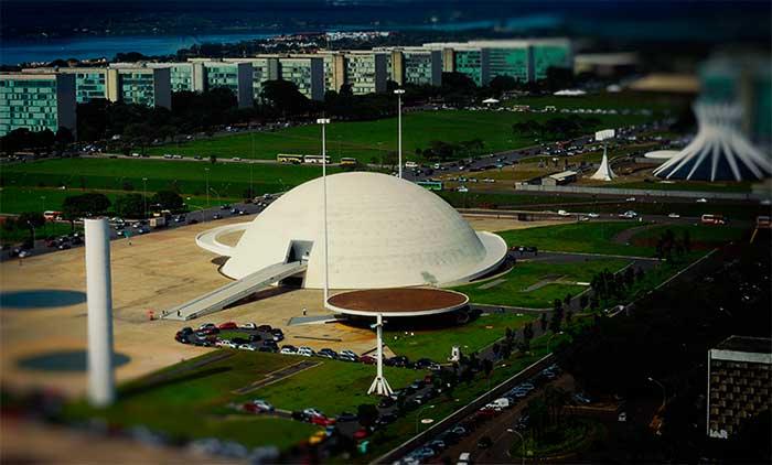 brasília-museu nacional da república - foto