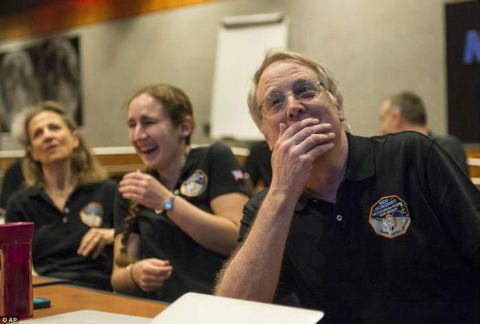 New Horizons e a emoção dos cientistas - Foto