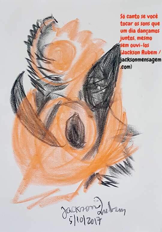 Desenho inédito 2 ilustrando frases sabias de amor