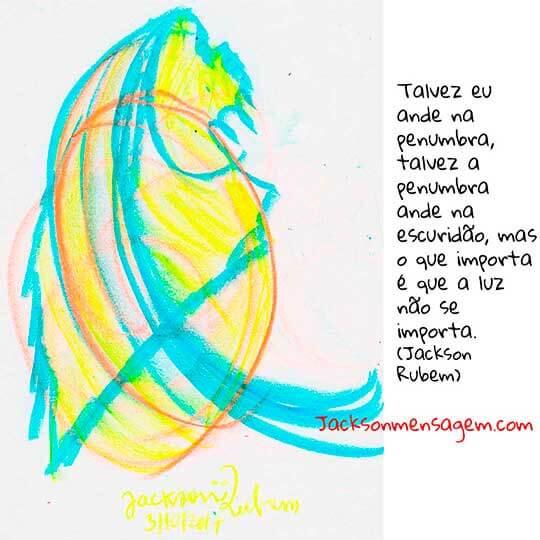 Desenho com frases de reflexão da vida -4